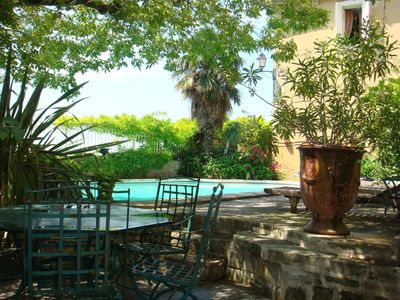 Photo for Property of the XVII panoramic view of the Alpilles 5 minutes from Avignon