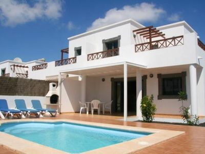 Photo for Holiday house Playa Blanca for 6 persons with 3 bedrooms - Holiday house