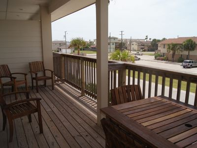 Photo for JUST STEPS TO BEACH. 4BR 3B condo.