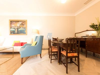 Photo for Homes In Blue - Apartment with 3 bedrooms, 3 bathrooms and 1 toilet with capacity for 6 people located in the heart of Seville.