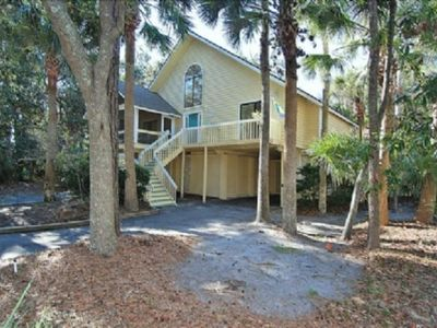 Photo for Short Stroll to Beach and Coligny, Private Pool and Game Room