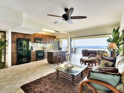 Photo for Breathtaking View on Beautiful Sandy Beach Oceanfront