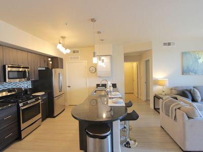 Photo for Top Floor-No One Above-2BR/2BA-Walk Across The Street to The Quarter & Commons!