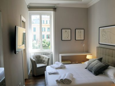 Photo for Nomentana House in Viale Gottardo in Montesacro well connected to the center of Rome