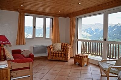 Photo for Attractive Luxury Apartment With Panoramic Views In Courchevel 1550, Franc