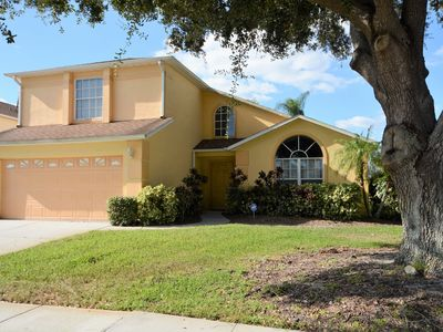 Photo for Gorgeous 4-Bedroom Pool Home near Disney