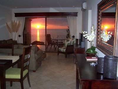 Stunning Sunsets from your Private Patio, and everywhere else!