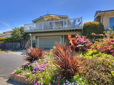 Photo for Ocean View/Walk to Beach/Expansive Deck/SPA/Fireplace/Family Friendly/Free WIFI