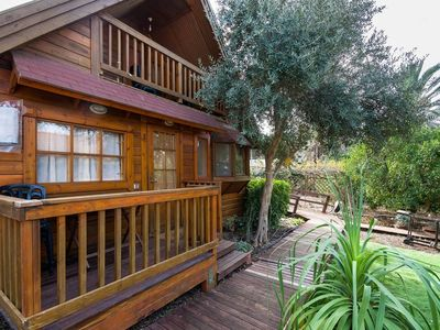 Photo for 3BR Wooden Chalet + Spa Parking Pool
