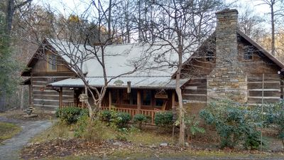 Surprise and mystery, inside and outside the Chestnut Log Cabin