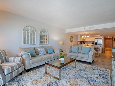 Photo for Luxurious Beach Front Condo!  3BR/2B includes 2 Master Suites - New Owners