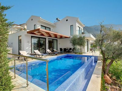 Photo for 3 bedroom Villa, sleeps 6 in Kalkan with Pool, Air Con and WiFi