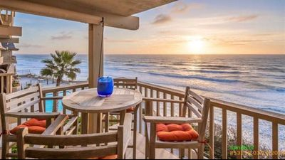Photo for Del Mar Ocean View steps from beach,4 Heated Pools Hot tub Private parking Gym