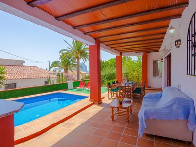 Photo for MOUNA, beautiful villa in Calp with sea and mountain views