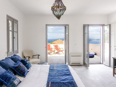 Photo for Maison Suisse with sea view in Spetses town