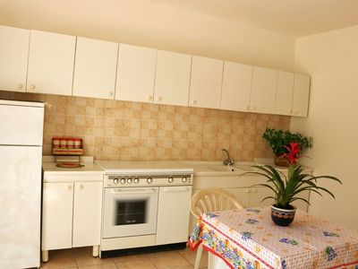 Photo for Cosy and close to the beach - Bilocale in Villa Gallipoli 101