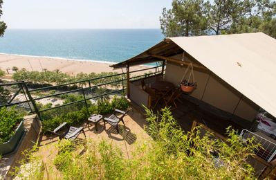 Photo for Kenyas Tents 5 people with sea view, Camping El Far