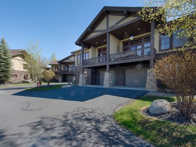 Photo for Greystone on Payette Lake-Beautiful Contemporary townhome one block from Marina