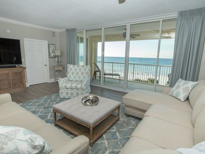 Photo for Oceania 405 - Stunning Luxury in this Gulf front 3 BR 3 Ba and amazing views