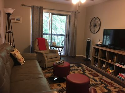 Photo for SOCIAL DISTANCE SPECIAL!Cute updated 2 bedroom Condo. sleeps 4. Indoor Pool, gym