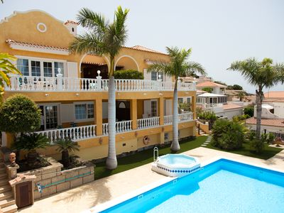 Photo for Holiday apartment with beautiful sea view to the Costa Adeje