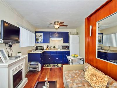 Photo for Steps to Beach & Bay!  Long term rental discount +Bikes, Parking space,