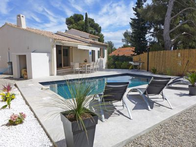 Photo for Bandol, Villa (8 pers.), Private pool, garden, quiet, parking