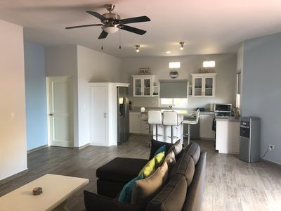 Photo for Ground Floor Condo, 2 Pools, Steps to the Beach