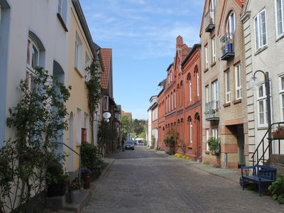 Photo for Charming old style apartment in the Eckernförde old town near the harbor and the sea