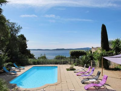 Photo for 6 bedroom Villa, sleeps 12 in Sainte-Maxime with Pool and WiFi