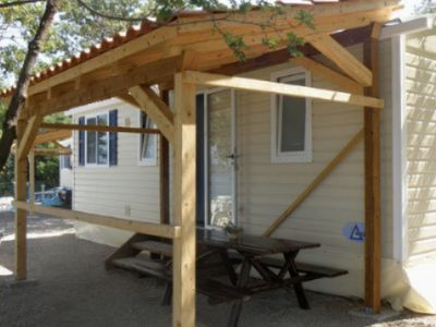 Photo for Mobile homes just 20 metres from the sea, located in a lovely holiday park
