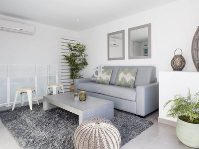 Photo for Be Apartment - Beautiful luxury duplex penthouse with terrace with partial sea views. 2 bedrooms and 2 bathrooms. Located in the center of Sitges and a few meters from the beach.
