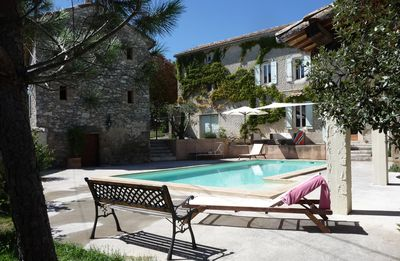 Photo for Large house with pool, ideal for 2 families, sleeps 14