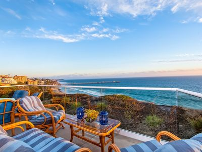 Photo for Stunning Ocean View Home on the Bluffs in San Clemente!