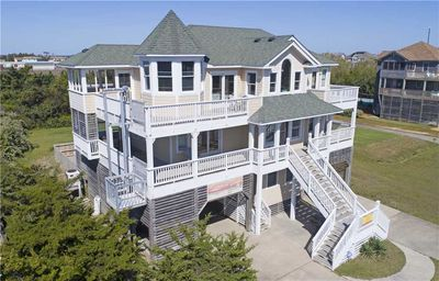 Photo for Dog-Friendly Semi-Oceanfront in Salvo-Pool, HotTub, Game Room, Easy Beach Access
