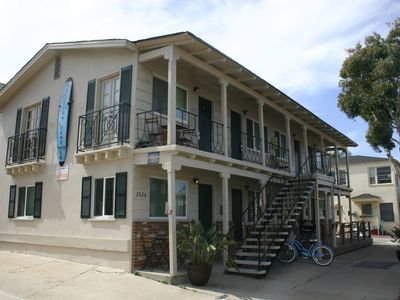 Photo for Adorable South Mission Studio-Steps to Ocean & Bay, Walk 5min To Belmont Park8