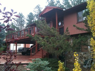 Quadmanor is Located in the Coconino National Forest Flagstaff Area