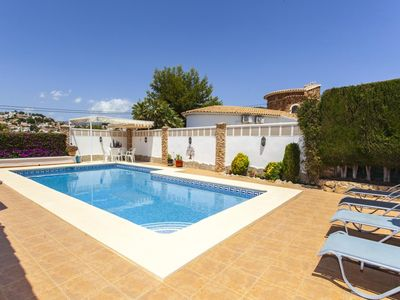 Photo for FONDA - Charming holiday villa private pool in Calpe