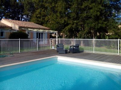 Photo for Les 4 vents - VILLA WITH HEATED POOL NEAR ST FLORENT