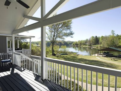 Photo for Cozy Waterfront Chalet with Great Dock