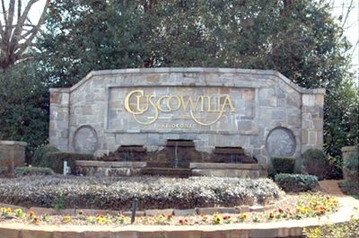 Entrance to Cuscowilla