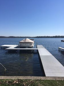 Photo for Dewart Lake Cottage - Amazing lake front view