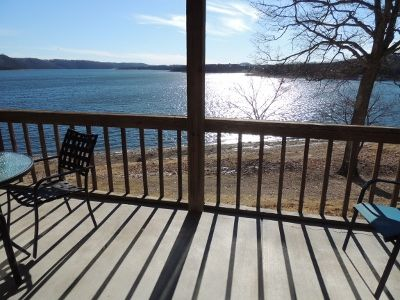 Photo for Walk to the waters edge from your private deck.LOW FALL & WINTER PRICING