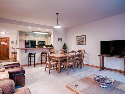 Photo for Slope-side 2 bdrm condo, Great location, Ski-in/ski-out, Heated garage parking, Hot tub access!