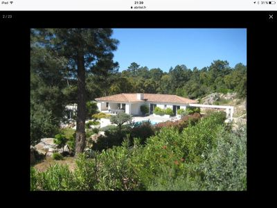 Photo for Superb contemporary villa in full maquis 5 minutes from beaches