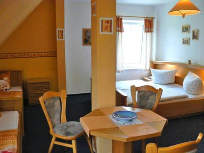 Photo for Quadruple Room - Family-friendly guesthouse with leisure activities