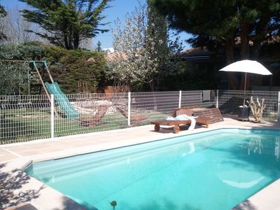 Photo for Nice villa full of charm in a Provencal village in the country of Aix