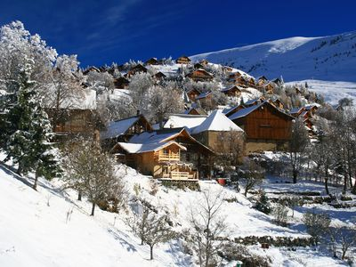 Photo for Spacious chalet auberge for skiers and cyclists. Sleeps 2-18 persons. 9 bedrooms