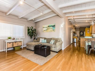 Photo for Cute Hermosa Beach Bungalow - Near Beach / Ocean View - 30 DAY MINIMUM
