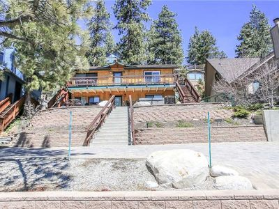 Photo for Stay Big Bear - Hot Tub and WiFi. Boat Dock, Across from lake! FREE 2 hour Bike/Kayak Rental!